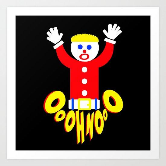 Oh No Mr Bill Saturday Night Live Art Print By