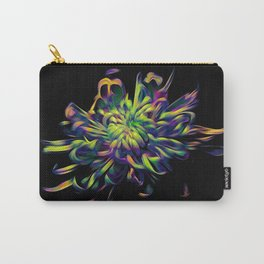 Rainbow Floral Carry-All Pouch
