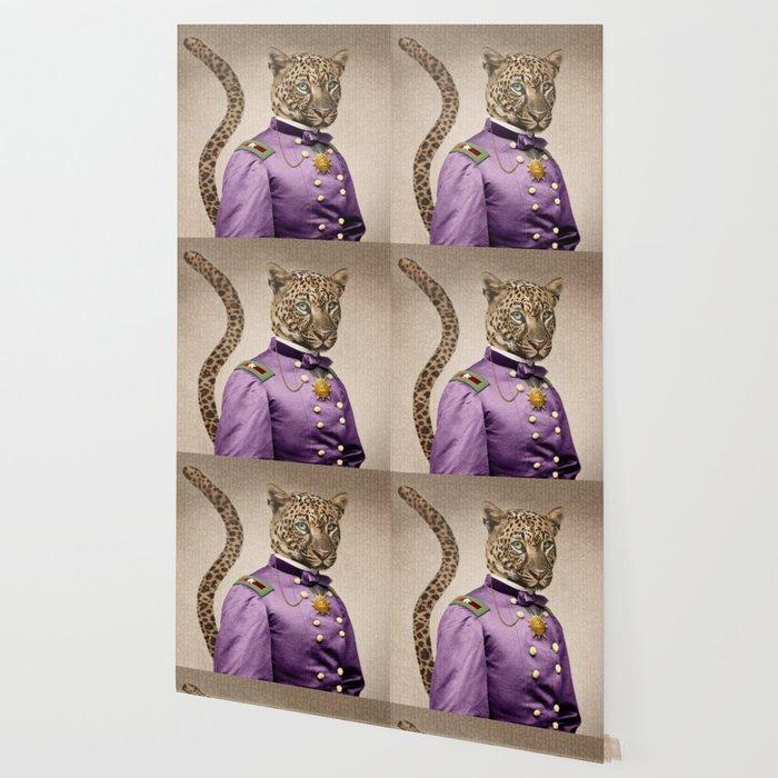 Grand Viceroy Leopold Leopard Wallpaper
