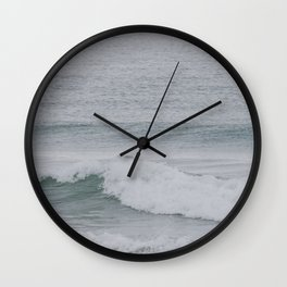 Passing Wave Stopped In Time Wall Clock