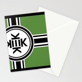 Kekistan flag for kekistani citizens facing normie opression Stationery Cards