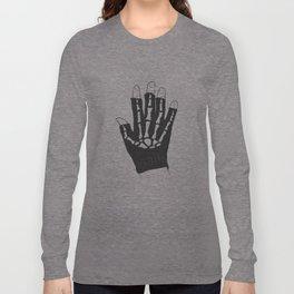 Skeleton Glove Long Sleeve T-shirt