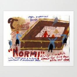 Sitcom Fan Art Series #3 Art Print