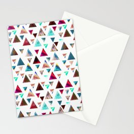 Multicolor Trianspace Stationery Cards