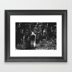 Candle Mass Framed Art Print
