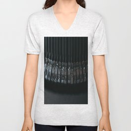 Rods old typewriter Unisex V-Neck