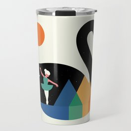 Swan Dance Travel Mug