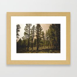 Klamath Fire One Framed Art Print