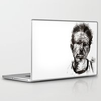 tom waits Laptop & iPad Skins featuring Tom Waits Bad As Me  by b_ethany