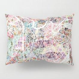 Grenoble map Pillow Sham