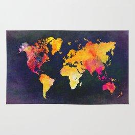 World map 8 Rug
