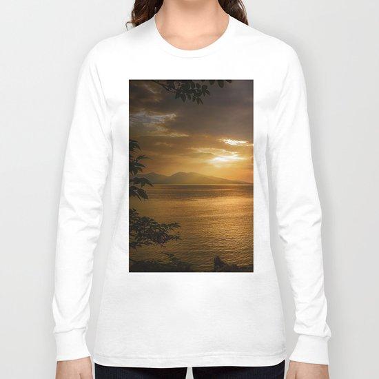 Sunset at Lismore Island Long Sleeve T-shirt