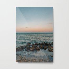 Montauk Sunset Metal Print