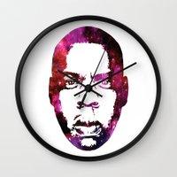 jay fleck Wall Clocks featuring JAY by Fimbis