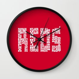 Liverpool 2019 - 2020 Wall Clock