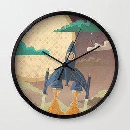 Dream Launch Wall Clock