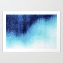 BLUR / frost Art Print