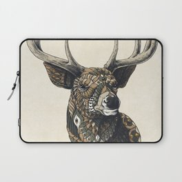 White-Tailed Deer (Color Version) Laptop Sleeve