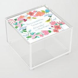 WonderfulDay Acrylic Box