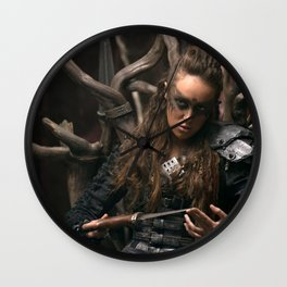 Lexa 02 Wall Clock