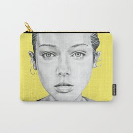 Lady Portrait Carry-All Pouch