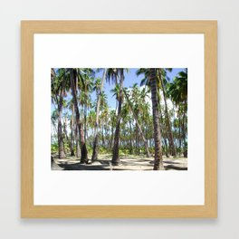 COCO NUTS Framed Art Print