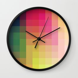 Trow - Colorful Decorative Abstract Art Pattern Wall Clock