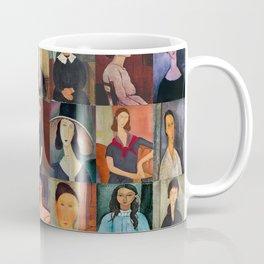 Amadeo Modigliani Montage Coffee Mug