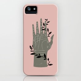 The Palmistry Hand iPhone Case