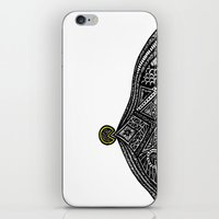 the vampire diaries iPhone & iPod Skins featuring PacMan Diaries by Lauren Moore