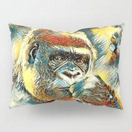 AnimalArt_Gorilla_20180201_by_JAMColorsSpecial Pillow Sham