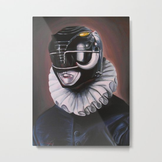 Portrait Of A Black Ranger Metal Print