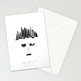 the world inside your head   Architect Stationery Cards