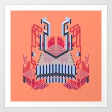 Keep of the Blue Lobster Art Print
