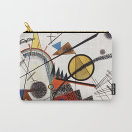 """Wassily Kandinsky """"In the Black Square"""" (1923) Carry-All Pouch"""