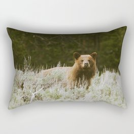 Bush Bear Rectangular Pillow