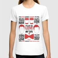 kurt rahn T-shirts featuring Kurt & Blaine  by Zara Yow