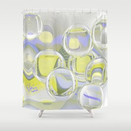 Flying Glas Shower Curtain