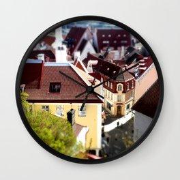Little Tallinn  Wall Clock