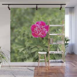 Lonely peony Wall Mural