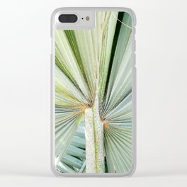 Fanned Palms Clear iPhone Case