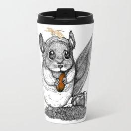 a little chinchilla Travel Mug