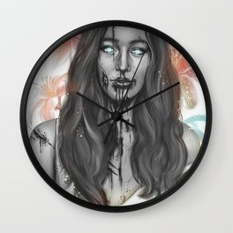 Just One Bite Wall Clock