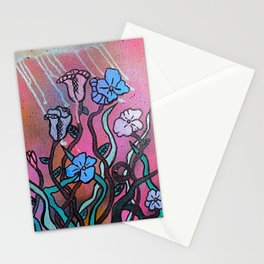 Flowers in Winter Stationery Cards