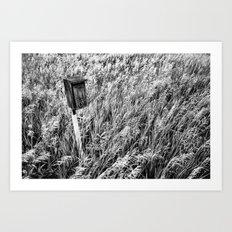 Little House in the Prairie 2 Art Print