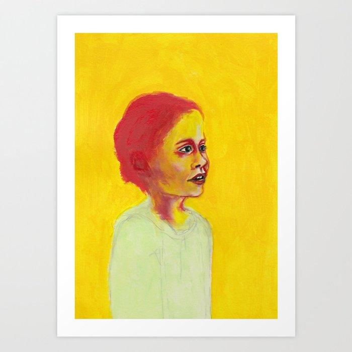 Nos étrangers 12 Art Print