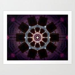Purple Velvet Art Print
