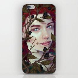 Blackberry Valentine iPhone Skin