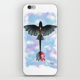 Hiccup and Toothless Flying from How to Train your Dragon 2 iPhone Skin