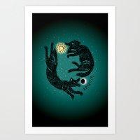 Ragnarok Art Print
